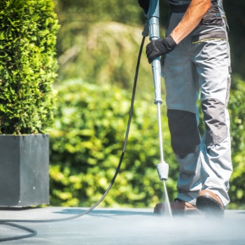 Stone Terrace Cleaning